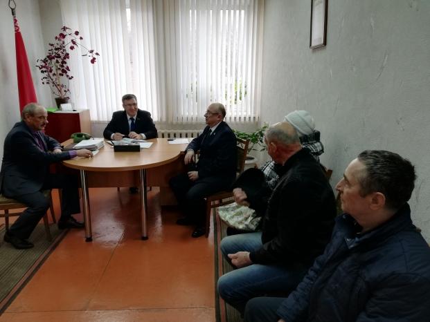 Прием граждан в Октябрьском сельском совете Жлобинского района