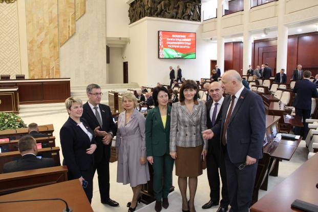 Заседание четвертой сессии Палаты представителей четвертого созыва