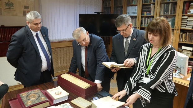 Посещение Постоянной комиссии по государственному строительству, местному самоуправлению и регламенту Президентской библиотеки